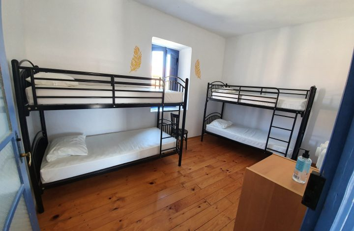 Bunk bed in shared Room